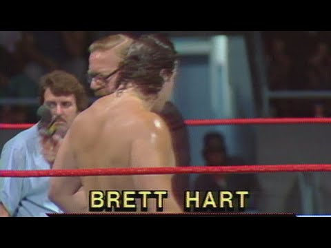 Bret Hart makes his WWE debut: Aug. 29, 1984