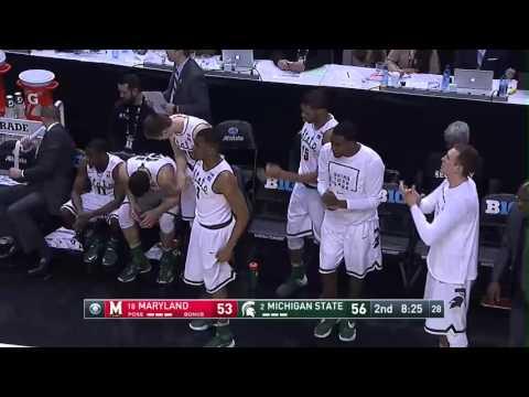 Michigan State vs. Maryland - 2016 Big Ten Men