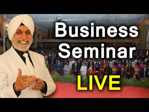 Business Seminar in Hindi LIVE | Motivational Seminar in Hindi | Employees Motivational | TsMadaan