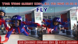 iFly Indoor Sky Diving | 6 year Old Kid | Prakhar Trikha  | Viral Video