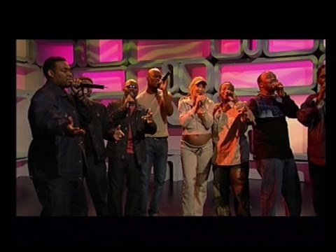 Sarah Connor Feat  Naturally 7 - Music Is The Key Live @ Interaktiv 2003