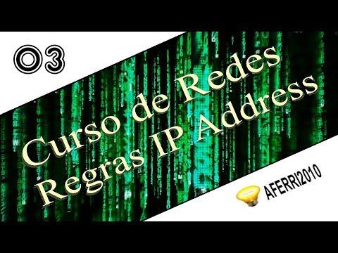 Curso de Rede Doméstica para Leigos - 03 - Regras para IP Address