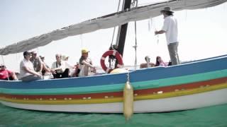 Lectures intimistes en mer - Patrick DUBOST - Voix Vives 2011 (Sète)