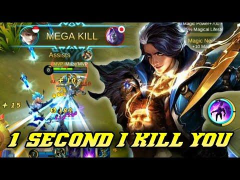 1 second I kill you   Gusion Gameplay imaze'MVP   Mobile Legends Bang Bang thumbnail