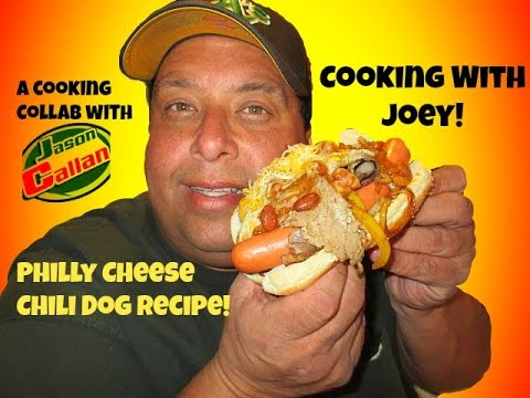 Philly Cheese Chili Dog Recipe with Jason Callan!