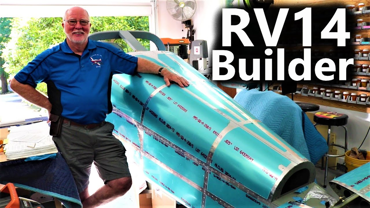 Vans RV14 Builder House Call - David Hays