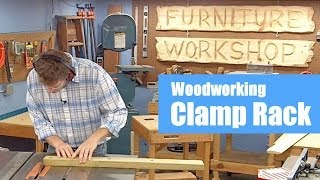Build A Woodworking Clamp Rack