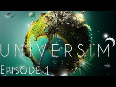 THE UNIVERSIM - A new Black & White God Game? #1