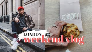 LONDON WEEKEND VLOG | GORDON RAMSAY'S RESTAURANT AND TRYING LONDON'S BEST COOKIES!