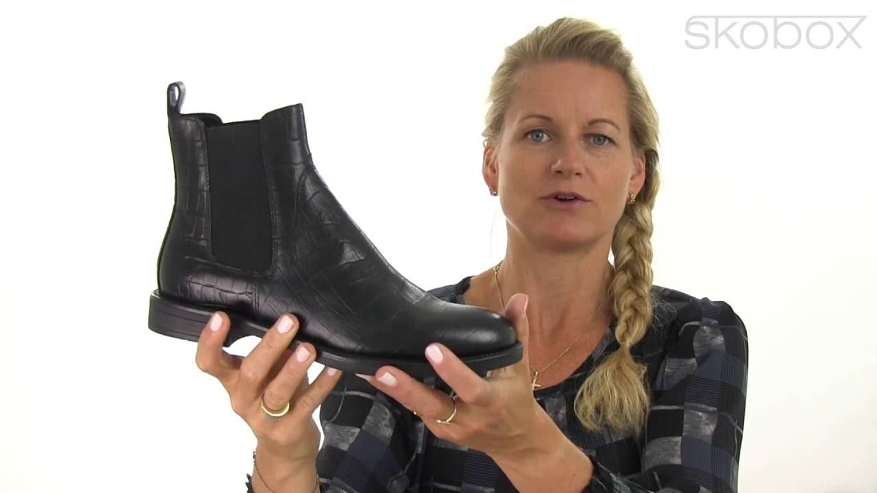 1cdbf0782607c5 Vagabond Amina Croco Chelsea Støvle