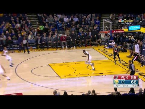 3rd Quarter, One Box Video: Golden State Warriors vs. Portland Trail Blazers