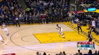 3rd Quarter, One Box Video: Golden State Warriors vs. Portland Trail Blazers