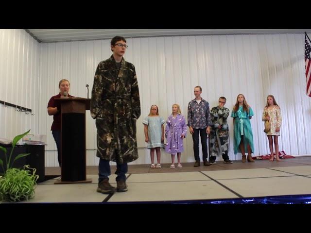 Pennington County 4-H Fashion Revue
