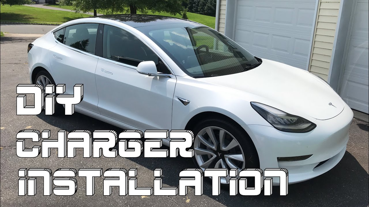 Tesla How To Install A Model 3 Charger At Home Mobile Connector Wall