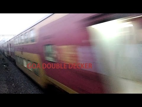 Back with Original timetable and Link : Shorty AC Konkan Double Decker Express!!