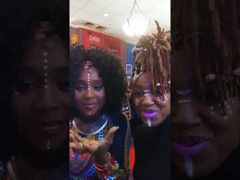 Black Panther Interview Empress Beatrice @ Jeli Boutique