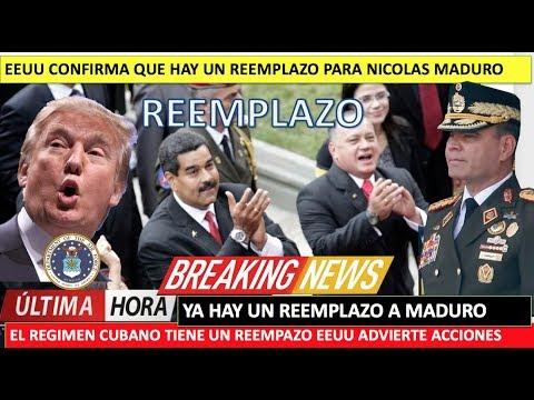 EEUU ya hay un reemplazo para cuando caiga Maduro