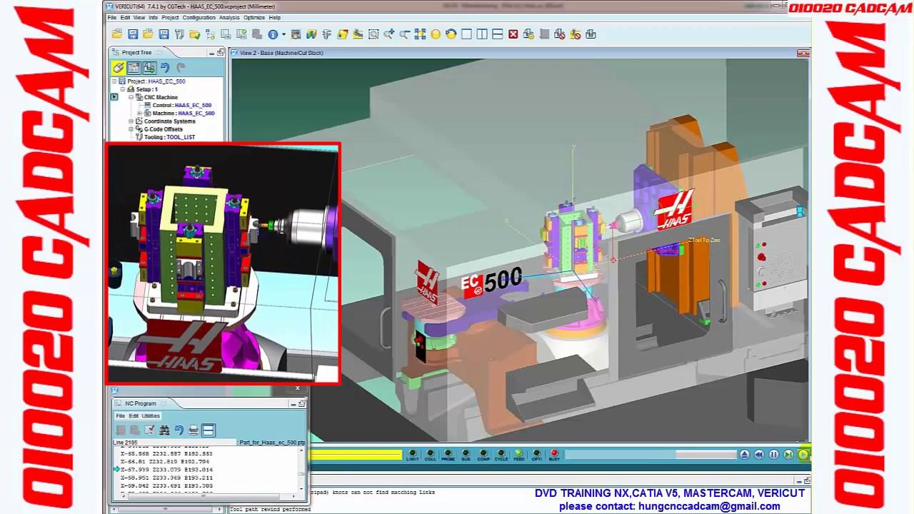 CGTech - CNC verification simulation and optimization software