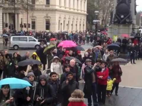 St Patrick's Day London 2013