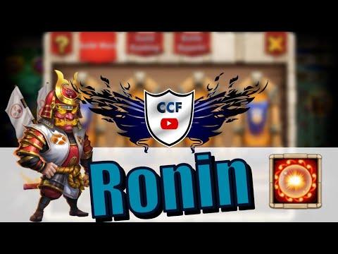 OP RONIN VS GK TOP 5! CASTLE CLASH