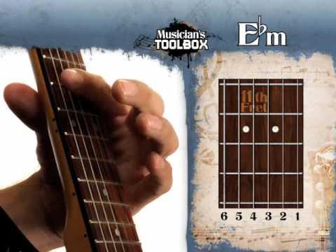 How To Play The Ebm Barre Chord On Guitar Ebm Bar Chord Youtube