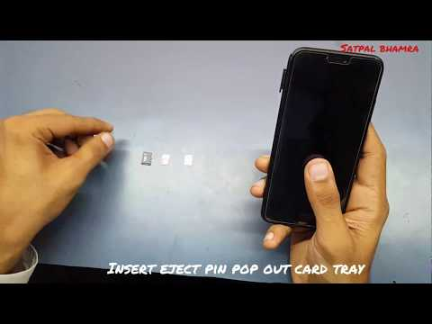 Huawei P Smart + ; How To Insert Sim And Sd Card In Huawei P Smart Plus