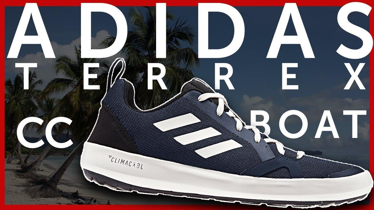 Adidas Terrex CC Boat Shoes - YouTube