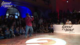 GROOVE'N'MOVE BATTLE 2015 - Tutting quarter-final / Marco Alma vs Sadeck