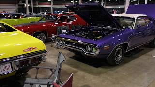 Collection of Rare MOPAR Muscle Cars | MCACN 2017