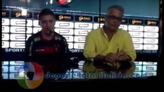 ALEJANDRO CHUMACERO  JUGADOR SPORT RECIFE