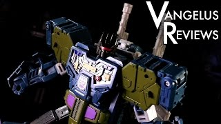 Combiner Wars Voyager Onslaught / Bruticus (Transformers Generations) - Vangelus Review 320-E