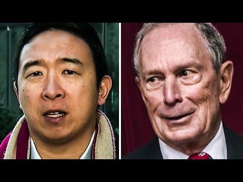Bloomberg Is Desperate To Get Andrew Yang's Endorsement