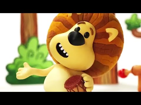 Raa Raa The Noisy Lion | 1 HOUR COMPILATION | Full Episodes | Kids Cartoon| Videos For Kids 🦁