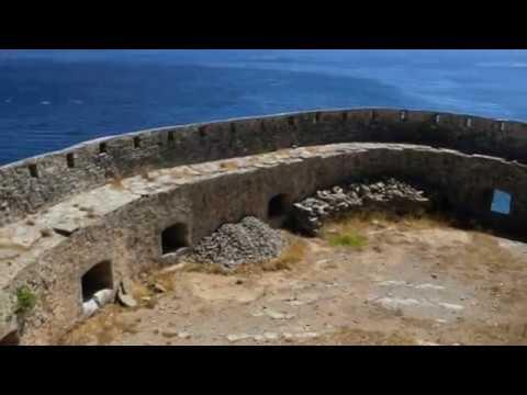 CRETE île de Spinalonga.