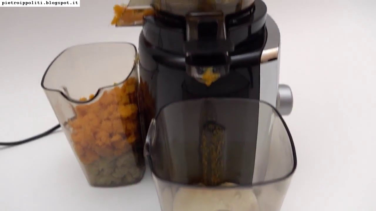 Klarstein Sweetheart Slow Juicer 150w - YouTube