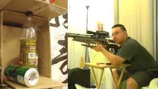 Air Arms FTP 900 .177 Cal PCP Air Rifle Plinkling!