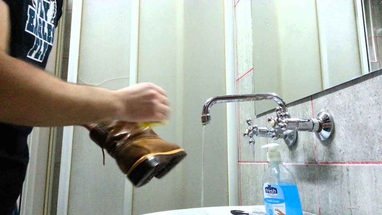 How do you clean Timberlands?