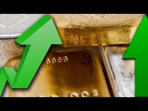 Fed Interest Rate UP, Markets UP, Gold UP, Silver UP 12/13/17