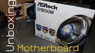 MotherBoard AsRock Intel Celeron | Unboxing