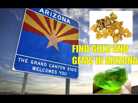 Find Gold And Gems In Arizona