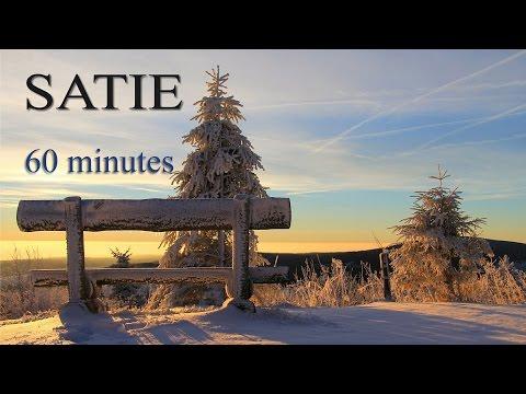 SATIE - Gymnopedies No.1 - 60 minutes - Piano - Relaxing music - Sleep music