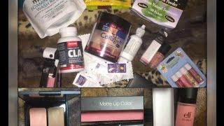 Посылка с iherb : косметика ELF, продукты для худеющих. Самое любимое!