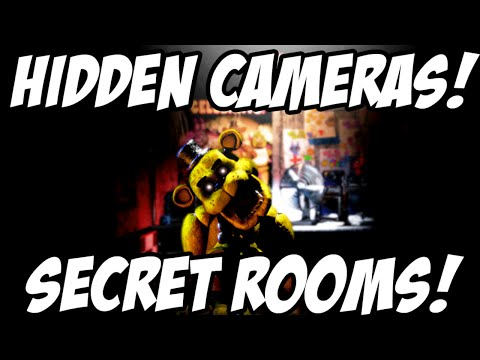 Five Nights At Freddys 3: Hidden Cameras And Secret Rooms! CAM15! And MORE!