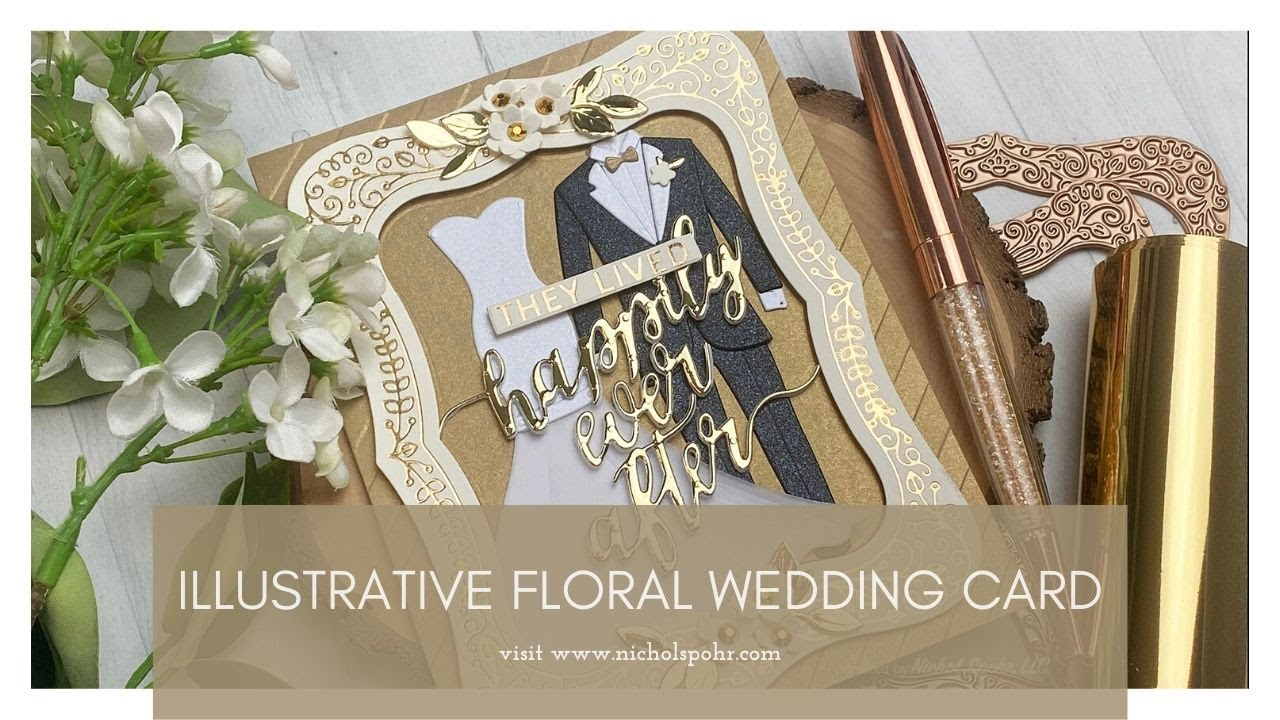 On Your Anniversary Mam /& Dad With Love Card Wedding Anniversary Bride /& Groom Foil//Gems Detail