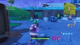 Fortnite- Motel Sign viene mangiato dal portale!