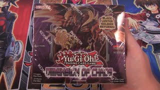 Yugioh Dimension of Chaos Box Opening