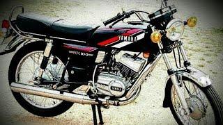 #YAMAHA Rx 100 Bike sticker/modified/restortation/Yamaha Rx 100 alternation