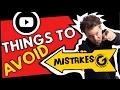 YouTube Mistakes to Avoid!