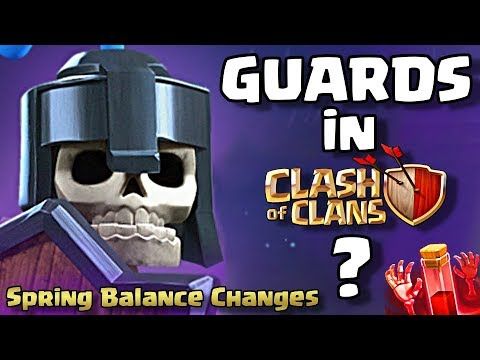Guards Coming To Clash Of Clans? NEW HERO LEVELS | Spring Balance Changes