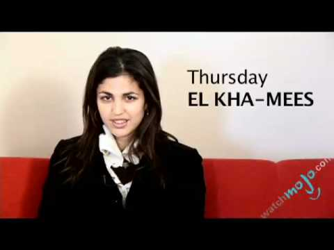Arabic Translations - How To Say Thursday